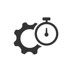 Productivity performance icon vector