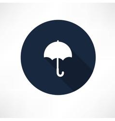 Umbrella - icon vector image