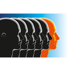 Leadership Winner vector image