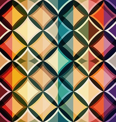 color mosaic seamless pattern vector image vector image