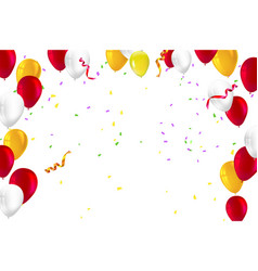 festive background for greeting cards vector image vector image