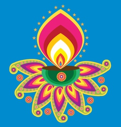 indian light vector image