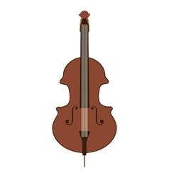 classic violin isolated icon design vector image