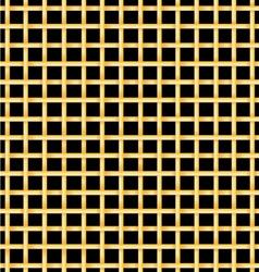 Golden bars on a black background vector