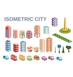 3D kit metropolis vector image