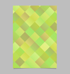 abstract modern geometrical diagonal square page vector image