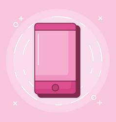 cellphone device icon vector image