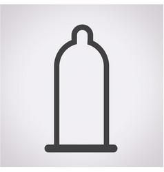 Condom icon vector