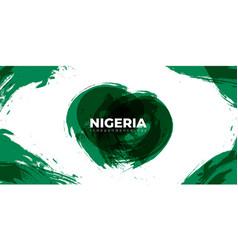 Green grunge background design nigeria vector