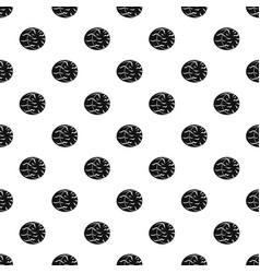 Half of nutmeg pattern vector