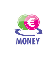 Logo money vector
