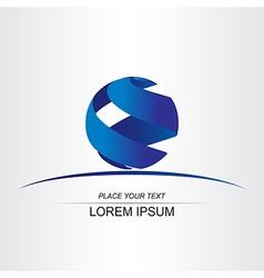 Logo sphera 002 vector image