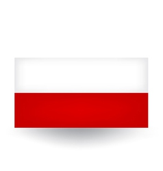 Polish Flag vector image