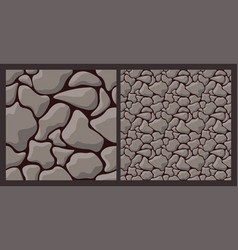 Texture with rough stone vector