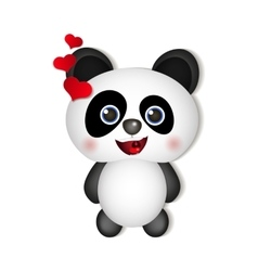 Very cute Panda vector image