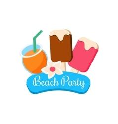 Beach Party vector image