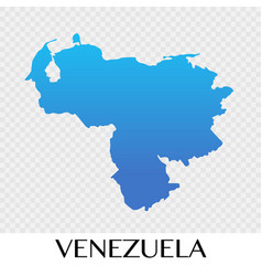 Venezuela map in south america continent design vector