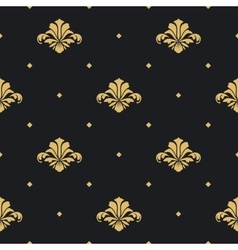 Baroque royal design wallpaper vector image vector image