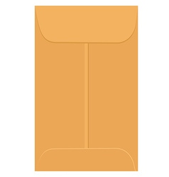 Envelope template vector image