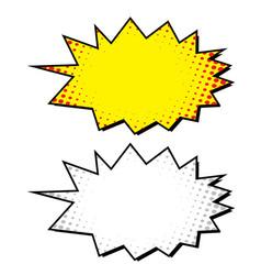 boom blank comic bubble - vector image