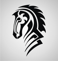 Horse Tattoo Design vector image vector image