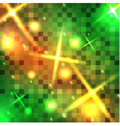 abstract square pixel background vector image