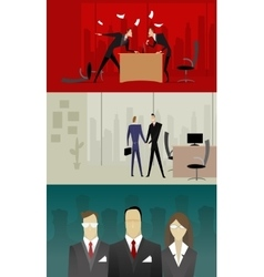 business relationship vector image