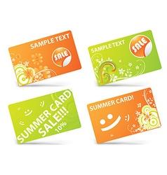 Card Templates vector