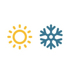 Climate Symbol vector