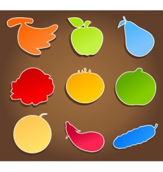 Meal icons3 vector