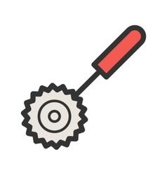 Pizza Cuttier vector