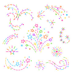 design elements for decoration vector image vector image