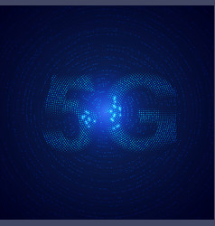 5g vector image