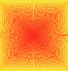 Abstract sunburst background with sun rays vector