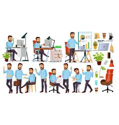 Boss character ceo managing director vector