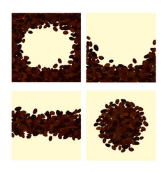 collection of four different vector image