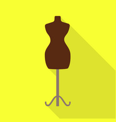 Design mannequin and tailor symbol set vector
