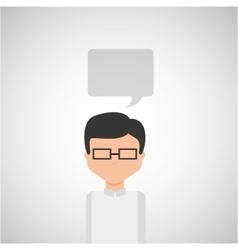 Personal opinion design vector