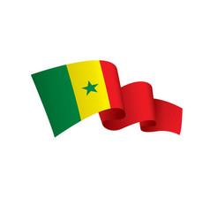 Senegal flag vector