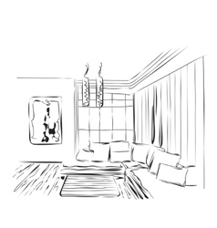 Sketch of a interior vector