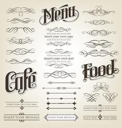 Calligraphy vector