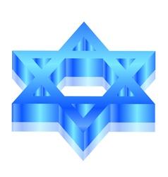 Star of David vector image vector image