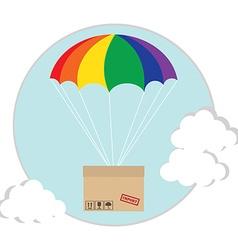Air shipping vector