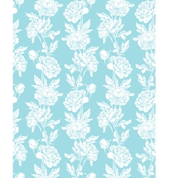 Blue flowers 1 380 vector