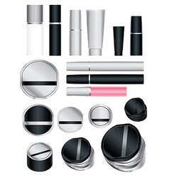 cosmetics set 5 vector image