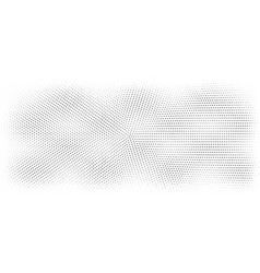 halftone doted background vector image