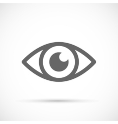 Human eye icon vector image
