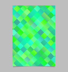 Modern gradient trendy diagonal square brochure vector