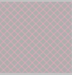 seamless abstract diagonal grid squares gray vector image