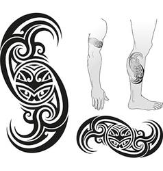 Taniwha swirl vector